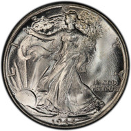 1944-P Walking Liberty Half Dollar Brilliant Uncirculated - BU