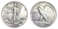 1943-S Walking Liberty Half Dollar Brilliant Uncirculated - BU
