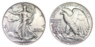 1943-D Walking Liberty Half Dollar Brilliant Uncirculated - BU