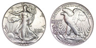 1942-S Walking Liberty Half Dollar Brilliant Uncirculated - BU