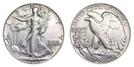 1942-P Walking Liberty Half Dollar Brilliant Uncirculated - BU