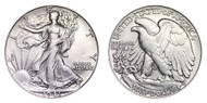 1941-S Walking Liberty Half Dollar Brilliant Uncirculated - BU