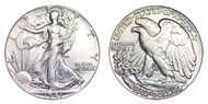 1941-P Walking Liberty Half Dollar Brilliant Uncirculated - BU