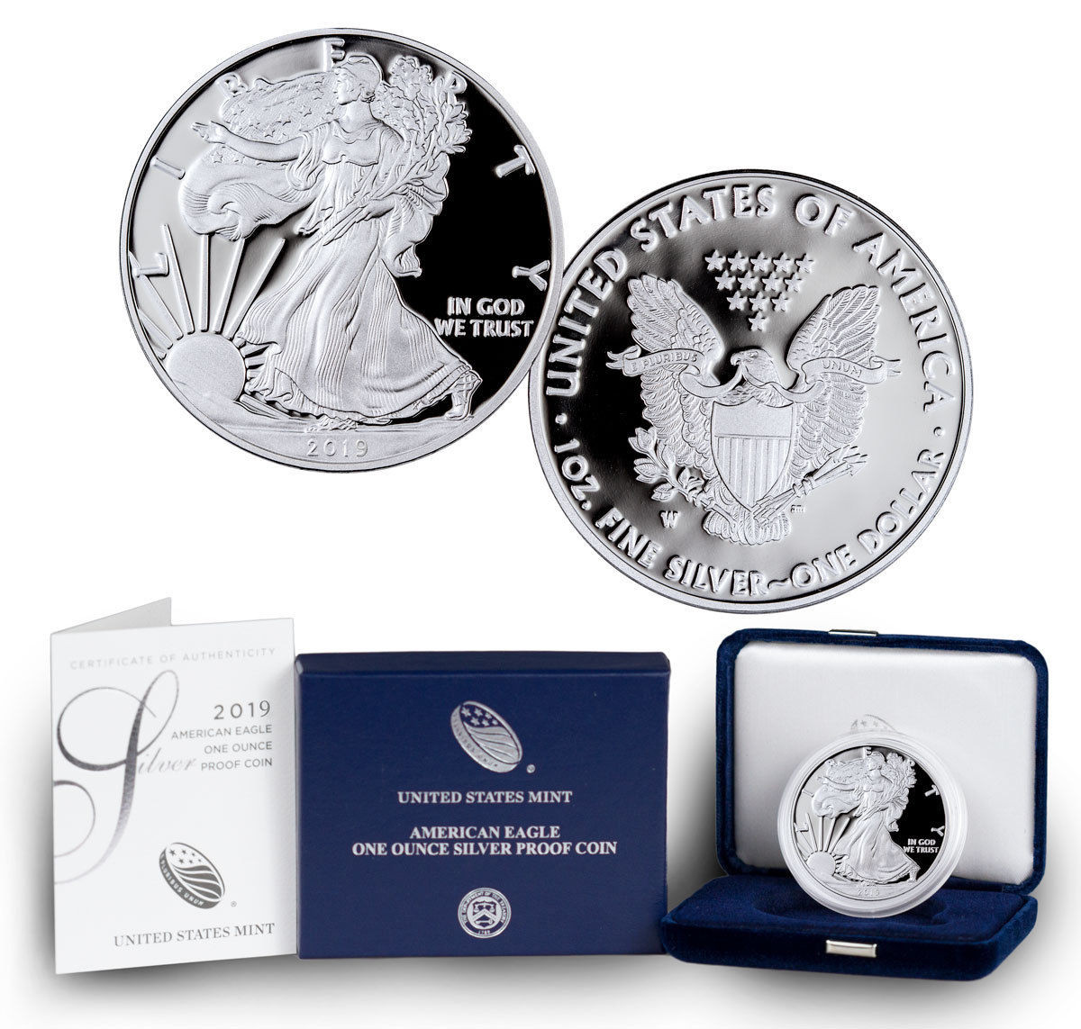 OGP /& Papers 2011-W American Silver Eagle Proof