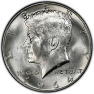 1964-D Kennedy Half Dollar Brilliant Uncirculated - BU