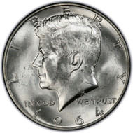 1964-D Kennedy Half Dollar Brilliant Uncirculated - BU