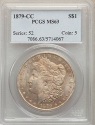 1879-CC S$1 Morgan Dollar PCGS MS63 - 740337046