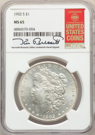 1902-S S$1 Morgan Dollar NGC MS65