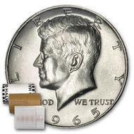 40% Silver Kennedy Half Dollar Roll Brilliant Uncirculated - BU (20 Coins)
