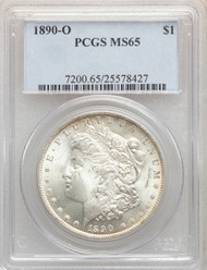 1890-O S$1 Morgan Dollar PCGS MS65 - 741357075