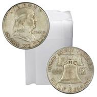 Franklin Half Dollar Roll Circulated - (20 Coins)