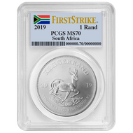 2019 Silver Krugerrand PCGS MS70 First Strike