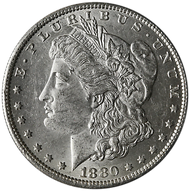 1880-O Morgan Silver Dollar Brilliant Uncirculated - BU