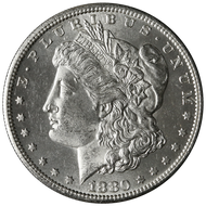 1880-S Morgan Silver Dollar Brilliant Uncirculated -BU