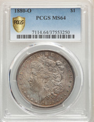 1880-O S$1 Morgan Dollar PCGS MS64 - 740614006