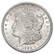 1921 Morgan Silver Dollar Brilliant Uncirculated - BU