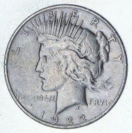 Peace Dollar Circulated VG-XF - (Mixed Dates)