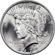 Peace Dollar Brilliant Uncirculated - BU (Mixed Dates)