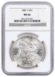 Pre-21 Morgan Silver Dollar NGC MS66