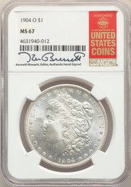 1904-O S$1 Morgan Dollar NGC MS67 - 741142018