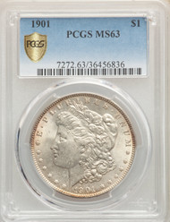 1901 S$1 Morgan Dollar PCGS MS63 - 741794012