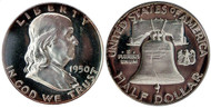 1950 Franklin Half Dollar Choice Proof