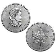 2019 1 oz Canadian Silver Maple Leaf Coin (BU)