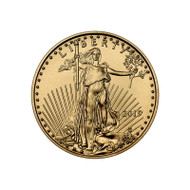 2019 1/4 oz American Gold Eagle Coin (BU)