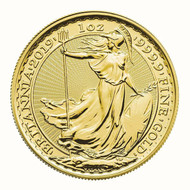 1 oz British Gold Britannia Coin (Random Year)