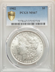 1902 S$1 Morgan Dollar PCGS MS67