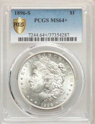 1896-S S$1 Morgan Dollar PCGS MS64+