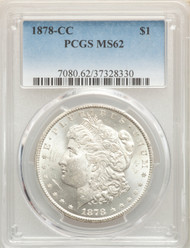 1878-CC S$1 Morgan Dollar PCGS MS62 - 741838006