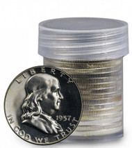 90% Silver Franklin Half Dollar Choice Proof- Roll of 20