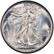 Walking Liberty Half Dollar- Brilliant Uncirculated (Random Year)