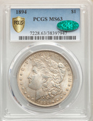 1894 S$1 Morgan Dollar PCGS MS63 CAC