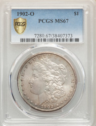 1902-O S$1 Morgan Dollar PCGS MS67 - 742740007