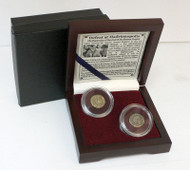 The Battle of Hadrianopolis: Box of 2 Roman Bronze Coins