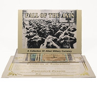 Fall of the Axis: Set of 5 Allied Military Currency Notes