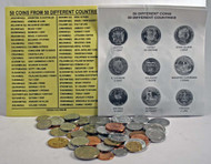 50 Different Coins From 50 Different Countries of the World