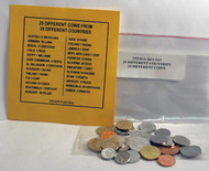 25 Different Coins From 25 Countries of the World