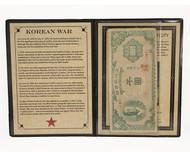 Korean War Banknote Album