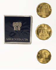 Argentina 20,50,100 Peso Soccer Set (U)