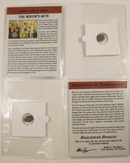 Widow's Mite Bronze Judaea Coin (103-76 BC) Mid-Sized Album