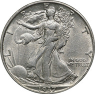 1916-1947 Walking Liberty Half Dollar XF/AU