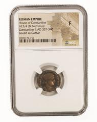 Roman AE of  Constantine II (AD 316-340) NGC (F)