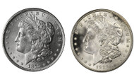 First & Last Year of Issue Morgan Dollar 2-Coin Set BU (1878 & 1921)