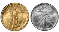 1986 $5 Gold Eagle & $1 Silver Eagle BU 2-Coin Set - First Year Of Issue