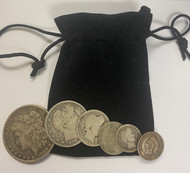 Obsolete Rare Coin 6-Coin Set - In Pouch