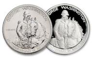1982 Washington Half Dollar Proof & BU-2 Piece Set