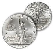 1986 Statue of Liberty Silver Dollar Brilliant Uncirculated
